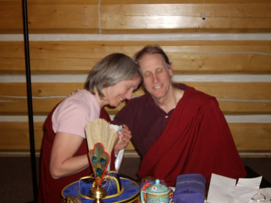 Les and lama Padma