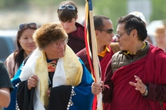 Chief of Carcross/Tagish FN with HE Gangteng Rinpoche of Bhutan