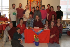Tara retreat with Lama Inge